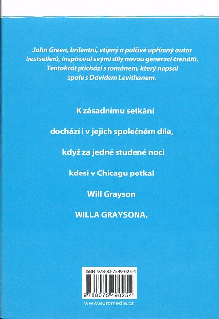 Náhled Will Grayson, Will Grayson