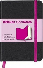 Zápisník CoolNotes Black/Pink malý