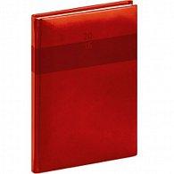 Diář 2016 - Aprint - Týdenní A5, červená,  15 x 21 cm
