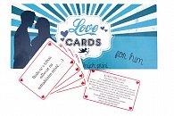 LOVE CARDS - Karty splněných přání PRO NĚHO