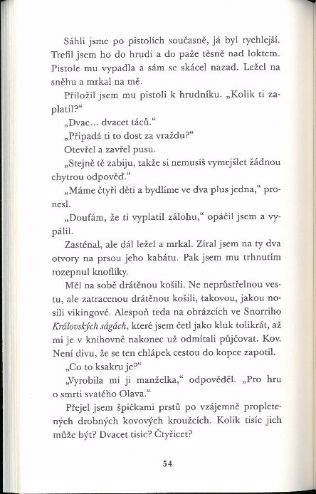 Náhled Krev na sněhu (paperback)