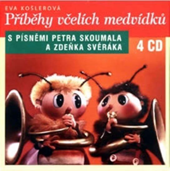 Příběhy včelích medvídků 4CD - Eva Košlerová