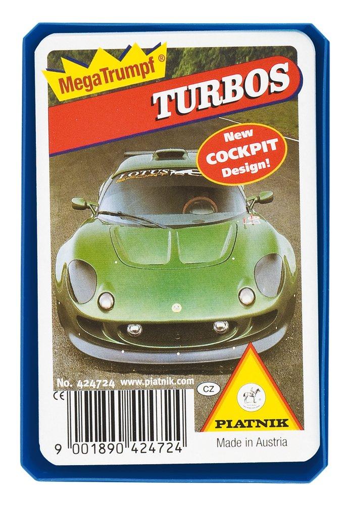 Piatnik kvarteto Auto turbo (papírová krabička)