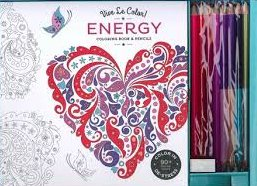 Náhled Vive Le Color! Energy (Coloring Book and Pencils)