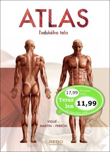 Atlas ľudského tela - Jordi Vigué