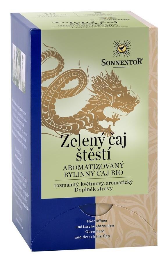 Sonnentor - Zelený čaj Štěstí bio