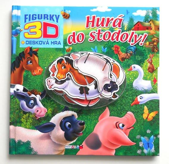 Hurá do stodoly! - 3D figurky + desková hra