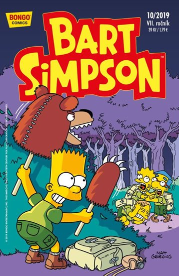 Simpsonovi - Bart Simpson 10/2019 - kolektiv autorů