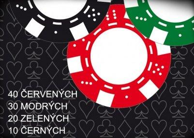Náhled Poker - 100 žetonů