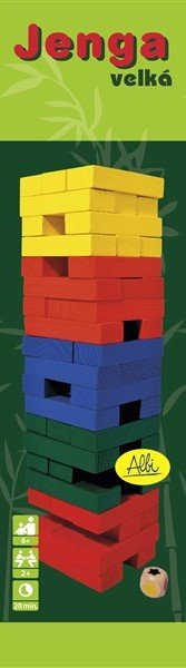 Albi Věž velká barevná s kostkou - Albi